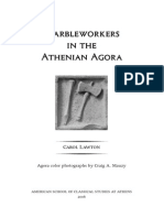 Carol Lawton, Marbleworkers in the Athenian Agora