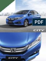 2014 Honda City Brochure