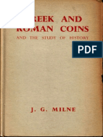 Greek and roman coins and the study of history / by J.G. Milne