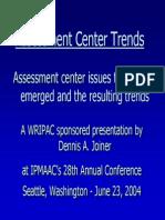 Assessment Centre Trends