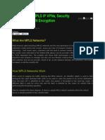 Nderstanding MPLS IP VPNs