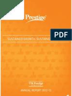 TTK Annual Report - 2012 13.