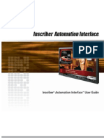 Automation Interface User Guide