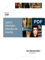 T3 CEP Authentication Authorization and Accounting