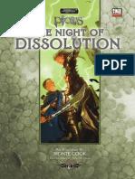 Ptolus - Night of Dissolution