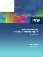 CRC NI Peace Monitoring Report 2012