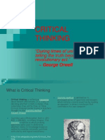 Criticalthinkingpowerpoint 130327000622 Phpapp02 DISCUSSION 2