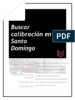 Buscar calibración en Santo Domingo