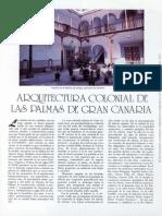 Arquitectura Colonial de Las Palmas de Gran Canaria