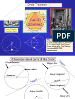 Circle Theorems WithProofs