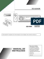 Manual do rádio KD-G209UR