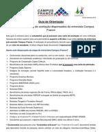 Guia Campus France Sem Entrevista Setembro 2012