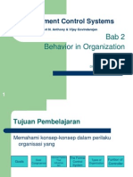 Bab 2 Behavior in Organization