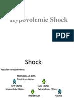 Shock hypovolemic
