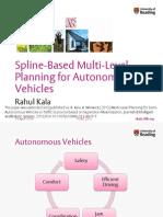 Multi-Level Planning for Semi-Autonomous Vehicles in Traffic Scenarios based on Separation Maximization