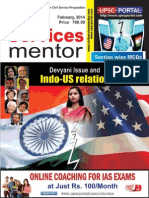 Civil Services Mentor February 2014 Www.upscportal.com