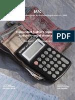 Brac Audit Report 2012