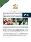 Laser Surgery to Treat Cataract