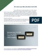 Grand Lecteur DVD Voiture Pour Mercedes-Benz CLK-C209