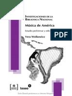 Música de América_revista