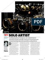 Rhythm Magazine Advice for Drummers