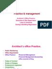 Practice & Management in Architecture