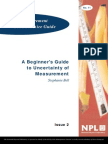NPL - A Beginner's Guide to Uncertainty of Measurement