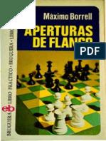 Aperturas de Flanco Maximo Borrell