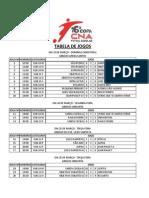 Copa Cna de Futsal Escolar 2014
