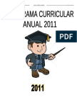 Programa Curricular Anual Primaria