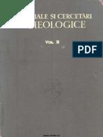 Materiale Cercetari Arheologice II 1956