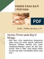 Asuhan Primer Pada Bayi 6 Minggu Pertama