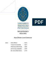 Mechatronics Report