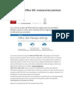 Office 2013 y Office 365