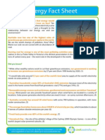 Energy Fact Sheet v1