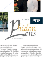 Phidon Pens profile from Pen World Magazine