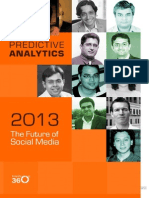 The Future of Social Media 2013 Predictive Analytics (1)