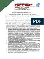 Nota de Prensa 2014