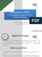 Derivaciones HEGC