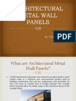 Architectural Metal Wall Panels