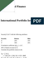 International Portfolio Investments
