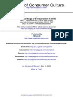 Understandings of Consumerism. PDF