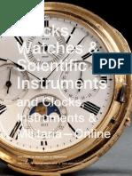 Clocks, Watches & Scientific Instruments | Skinner Auction 2724M