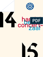 Seizoensbrochure 2014-2015