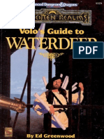 Forgotten Realms - Volo's Guide to Waterdeep