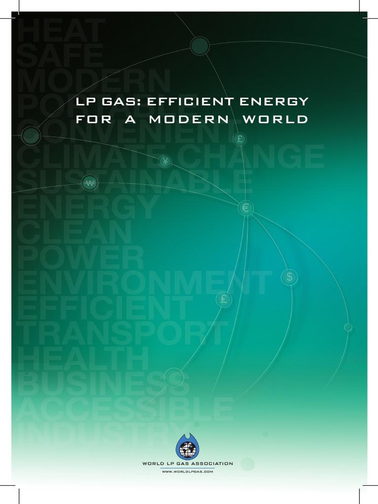 LPG Energy Efficiency Report.pdf | Kitchen Stove | Electricity ...
