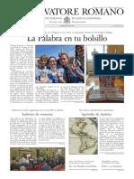 L´OSSERVATORE ROMANO - 11 Abril 2014