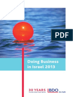 Doing Business in Israel 2013
