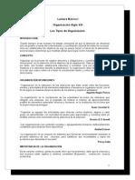 Lectura I - Los Tipos de Organizacion.doc