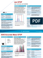 6500 QTOF One Page Summary